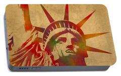 Statue Of Liberty Portable Battery Chargers