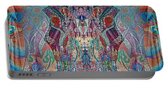 Mirrored Statues  Portable Battery Charger