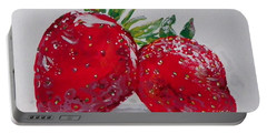 Stawberries Portable Battery Charger