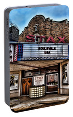 Stax Records Portable Battery Charger by Stephen Stookey