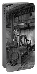 Steam Engine At Locke's Distillery Portable Battery Charger