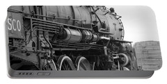 Steam Locomotive 1519 - Bw 02 Portable Battery Charger by Pamela Critchlow