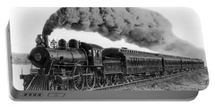 Steam Locomotive No. 999 - C. 1893 Portable Battery Charger