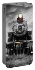 Steam Train Dream Portable Battery Charger by Edward Fielding