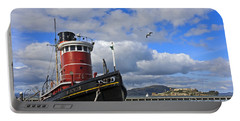Portable Battery Charger featuring the photograph Steam Tug Hercules by Kate Brown