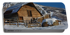 Steamboat Barn Portable Battery Charger by Don Schwartz