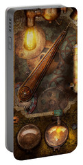 Steampunk - Victorian Fuse Box Portable Battery Charger