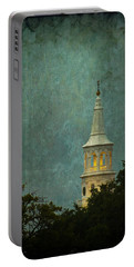 Steeple In A Storm Portable Battery Charger