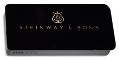 Steinway And Sons Portable Battery Charger by David Bearden