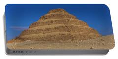 Step Pyramid Of King Djoser At Saqqara  Portable Battery Charger
