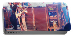Portable Battery Charger featuring the photograph Stephan The Bass Player by Aaron Martens