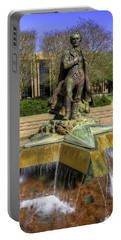 Portable Battery Charger featuring the photograph Stephen F. Austin Statue by Tim Stanley