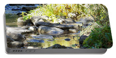 Portable Battery Charger featuring the photograph Stepping Stones by Sheri Keith
