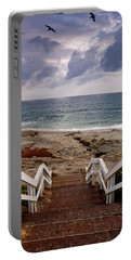 Steps And Pelicans Portable Battery Charger
