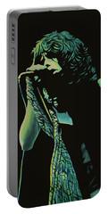 Steven Tyler 2 Portable Battery Charger by Paul Meijering
