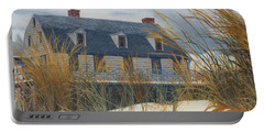 Stevens House Portable Battery Charger by Barbara Barber