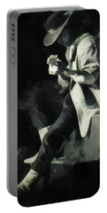 Stevie Ray Portable Battery Charger