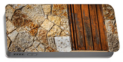 Sticks And Stone Portable Battery Charger by Melinda Ledsome