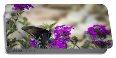 Still Beautiful Swallowtail Portable Battery Charger