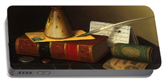 Still Life With A Writing Table Portable Battery Charger