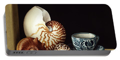 Still Life With Nautilus Portable Battery Charger