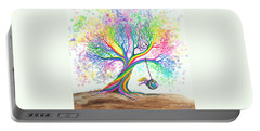 Still More Rainbow Tree Dreams Portable Battery Charger