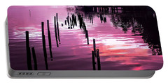 Portable Battery Charger featuring the photograph Still Water Dusk 2 by Wallaroo Images