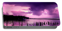Portable Battery Charger featuring the photograph Still Water Dusk by Wallaroo Images