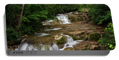 Portable Battery Charger featuring the photograph Stockbridge Falls by Dave Files