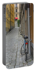 Stockholm Alley And Bicycle Portable Battery Charger