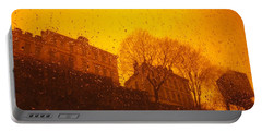 Stockholm The Heights Of South In Silhouette Portable Battery Charger