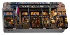 Stockyards Hotel Portable Battery Charger