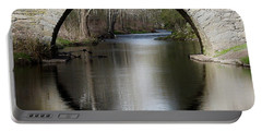 Stone Arch Bridge Portable Battery Charger by EricaMaxine  Price