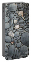 Stone Beach Keepsake Rocky Beach Shells And Stones Portable Battery Charger