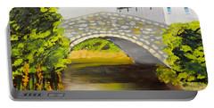 Stone Bridge At Burrowford Uk Portable Battery Charger