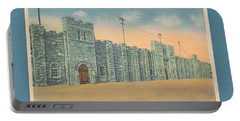 Stone Castle Bristol Tn Built By Wpa Portable Battery Charger