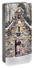 Stone Chapel In The Woods Trapp Family Lodge Stowe Vermont Portable Battery Charger