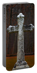 Stone Cross Portable Battery Charger