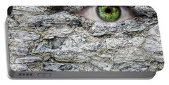 Stone Face Portable Battery Charger by Semmick Photo