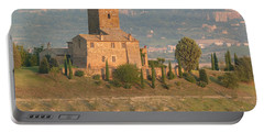 Portable Battery Charger featuring the photograph Stone Farmhouse by Marcia Socolik