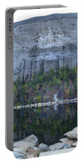 Stone Mountain - 2 Portable Battery Charger by Charles Hite