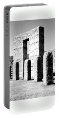 Portable Battery Charger featuring the photograph Stonehenge Replica by Chalet Roome-Rigdon