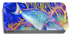Stoplight Parrotfish Portable Battery Charger