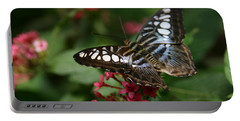 Portable Battery Charger featuring the photograph Stopping By by Denyse Duhaime
