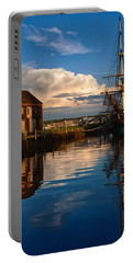 Storm Clearing Friendship Portable Battery Charger by Jeff Folger