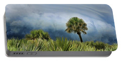 Storm Coming Portable Battery Charger by Kenny Francis
