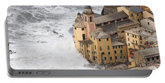 Storm In Camogli Portable Battery Charger