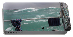 Storm On Tasman Sea Portable Battery Charger