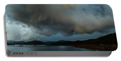 Storm Over Lake Shasta Portable Battery Charger