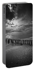Storm Over Naples Florida Beach Portable Battery Charger